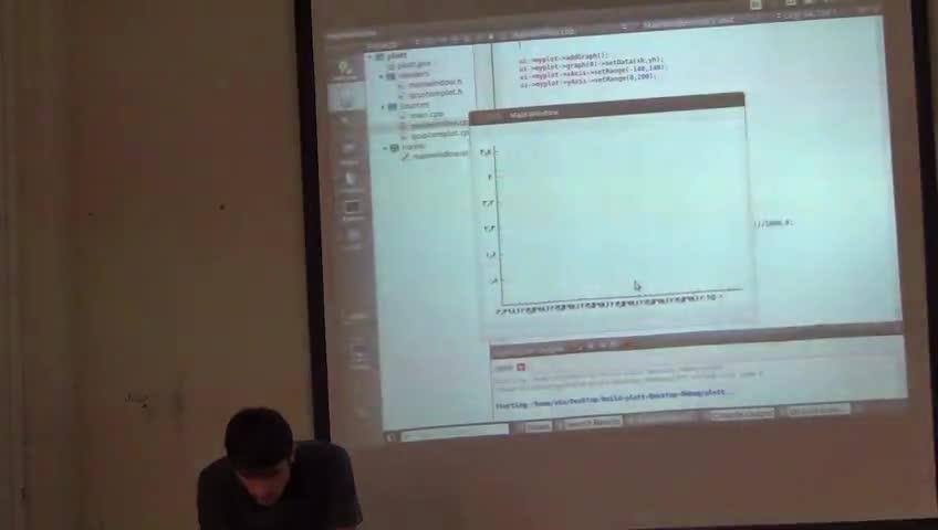 برنامه سازی پیشرفته - [حل تمرین - جلسه چهارم] - Qt: QCustomPlot