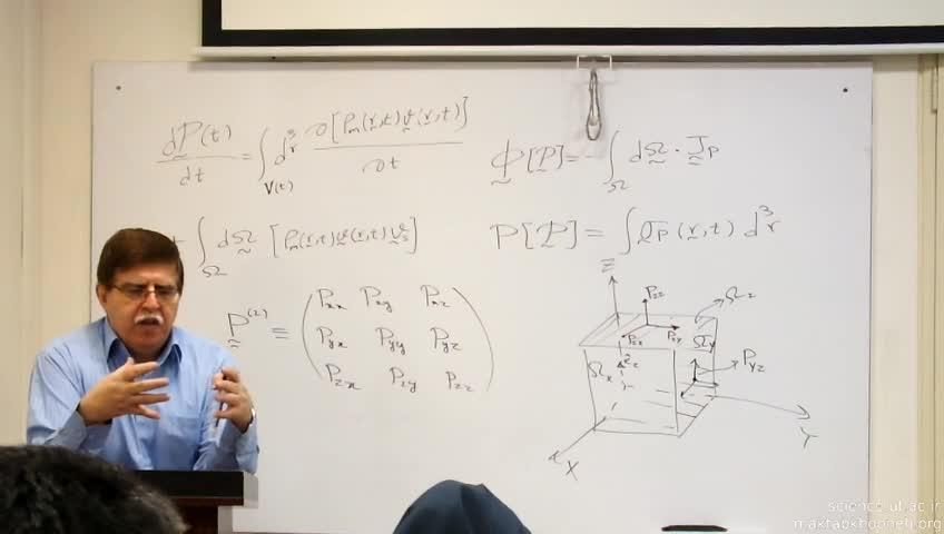 ترمودینامیک و مکانیک آماری غیر تعادلی - جلسه سوم