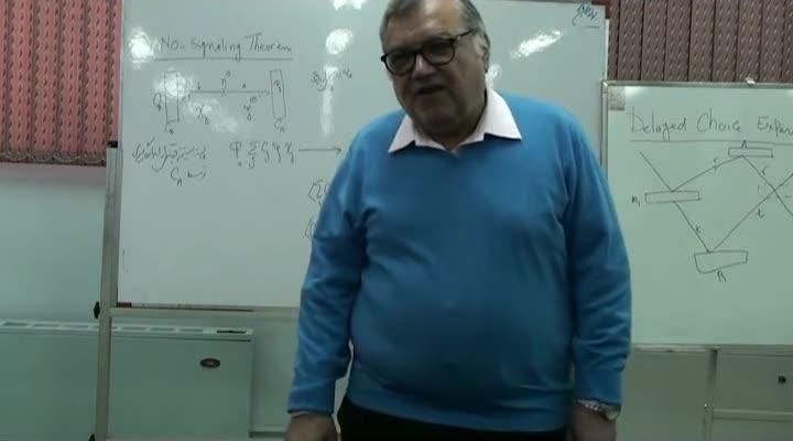 اصول فلسفی مکانیک کوانتوم - اصول فلسفی مکانیک کوانتوم - جلسه ۱۲