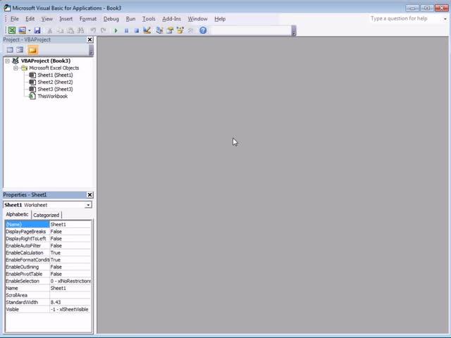 تخته سفید   Excel VBA Introduction Part 1 - Getting Started in the
