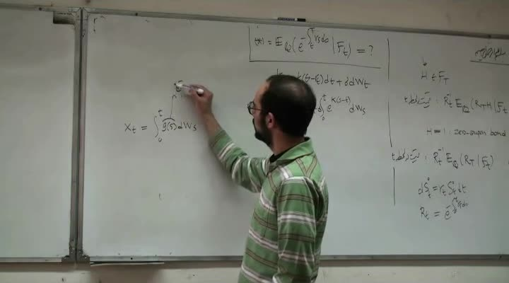 ریاضیات مالی - جلسه ۱۳