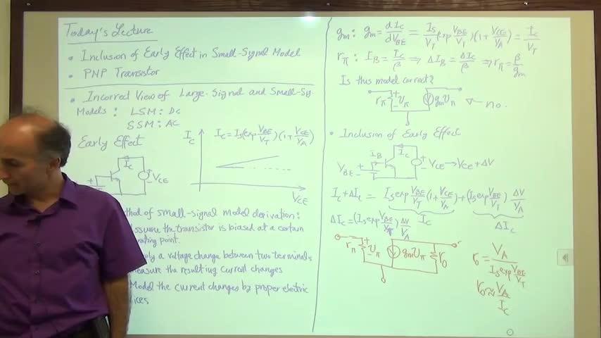 مدارات الکترونیک ۱ - جلسه هجدهم - ترانزیستور PNP