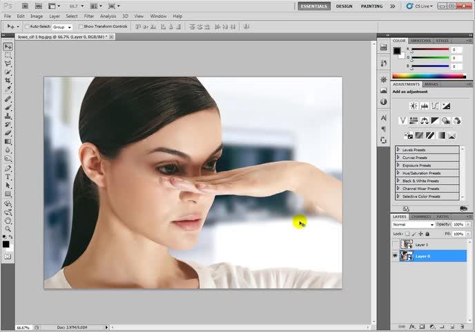 آموزش فتوشاپ (Photoshop) - جلسه 23 - چند نکته مهم در مورد Smart Object