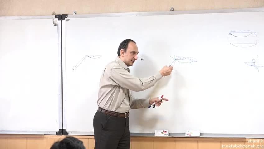 تئوری سازه ١ - جلسه یازدهم - بارگذاری و تغییر شکل