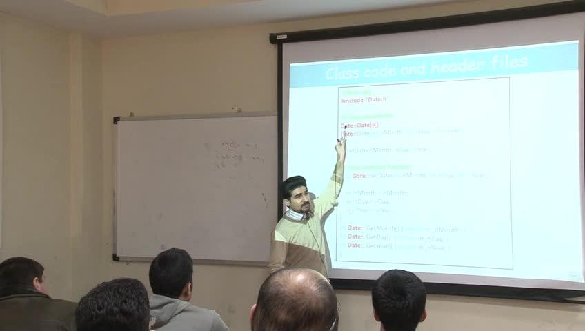 برنامه سازی پیشرفته - جلسه سیزدهم - تعریف کلاسها