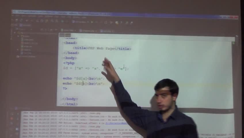 برنامه نویسی وب - جلسه هشتم - شروع php