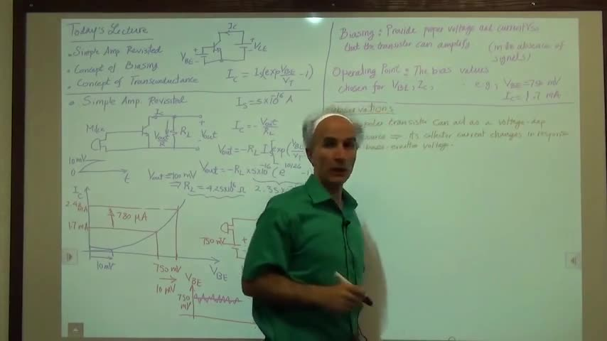 مدارات الکترونیک ۱ - جلسه پانزدهم - بایاس کردن
