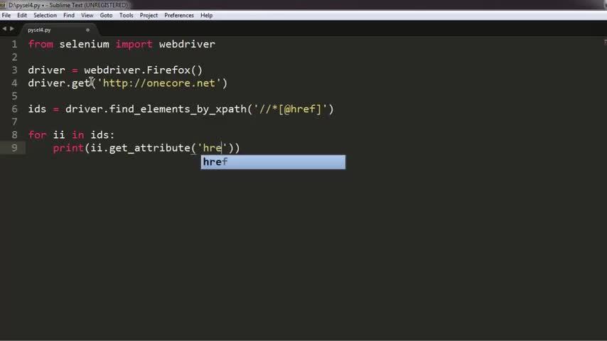 تخته سفید   Find All href Elements XPath in Python Selenium