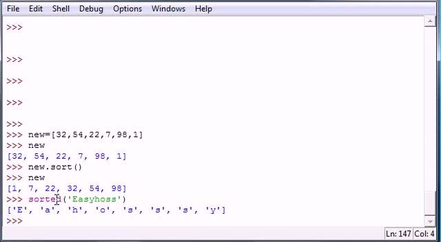 آموزش مقدماتی Python - جلسه ۱۶ - آموزش مقدماتی Python - Sort and Tuples