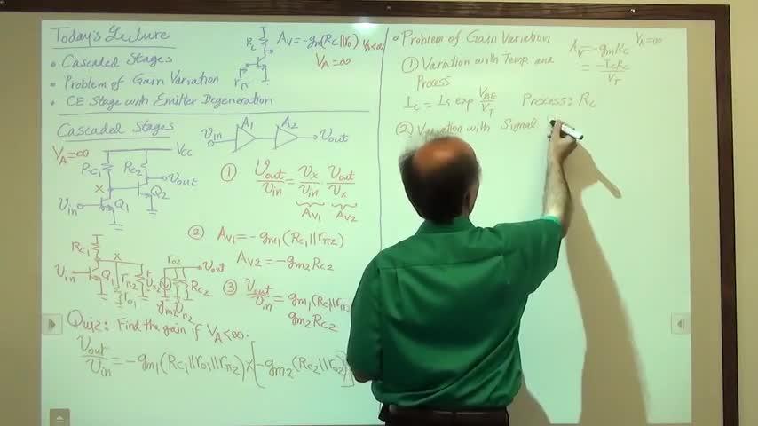 مدارات الکترونیک ۱ - جلسه بیست و دوم - امیتر مشترک با Degeneration