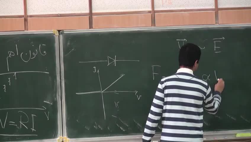 فیزیک ۲ - جلسه دهم - جریان های الکتریکی ؛ چگالی سطحی جریان
