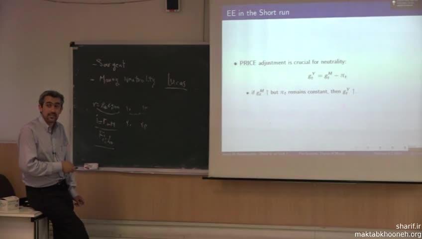 اقتصاد کلان ١ - جلسه نوزدهم - تئوری مقدار پول (2)