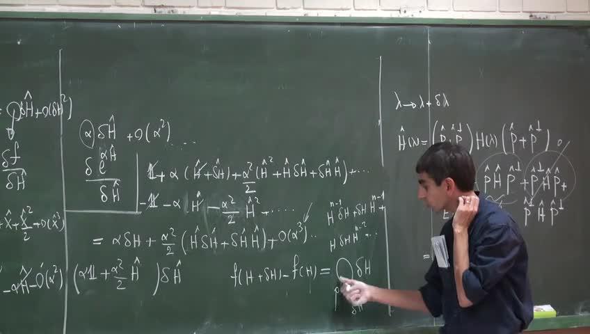 ریاضی فیزیک ١ - جلسه بیست یکم - اختلال واگن عملگرهای هرمیتی