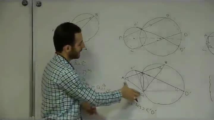 هندسه - آمادگی مرحله ۲ - جلسه اول - خزلی - چهارضلعی محاطی 1