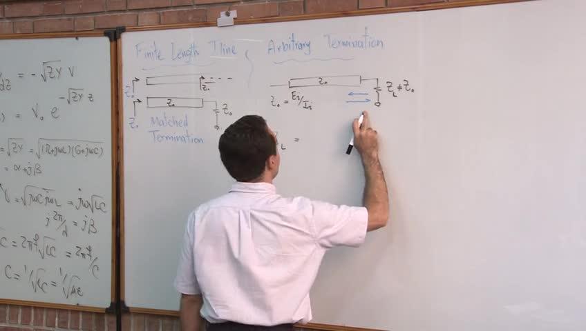 مدارهای مخابراتی - جلسه پنجم - خط انتقال و امپدانس مشخصه