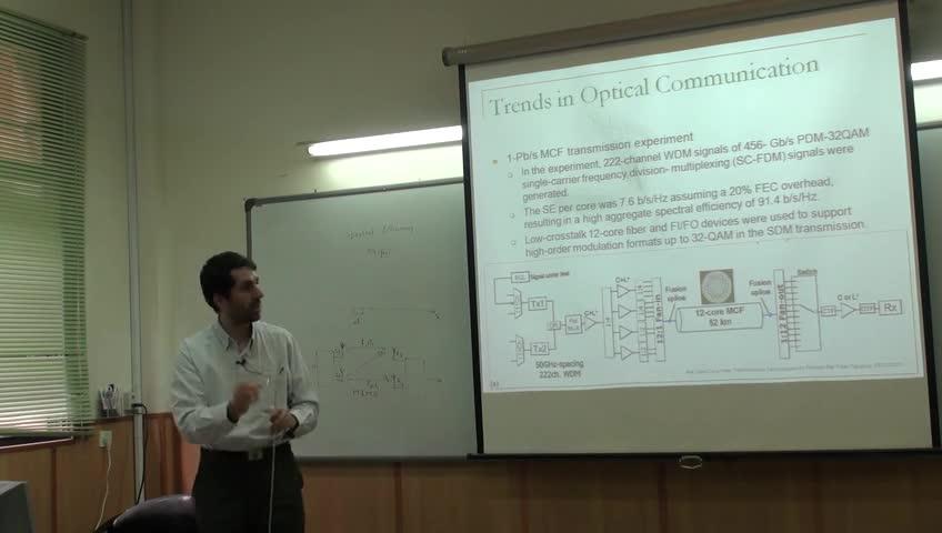 شبکه مخابرات داده پیشرفته - جلسه چهاردهم - شبکه های تمام نوری