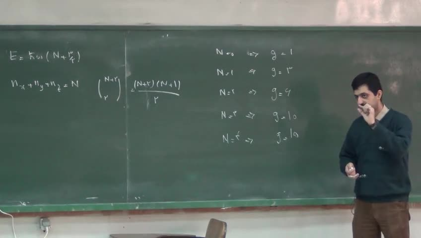 مکانیک کوانتیک ۲ - جلسه دوم