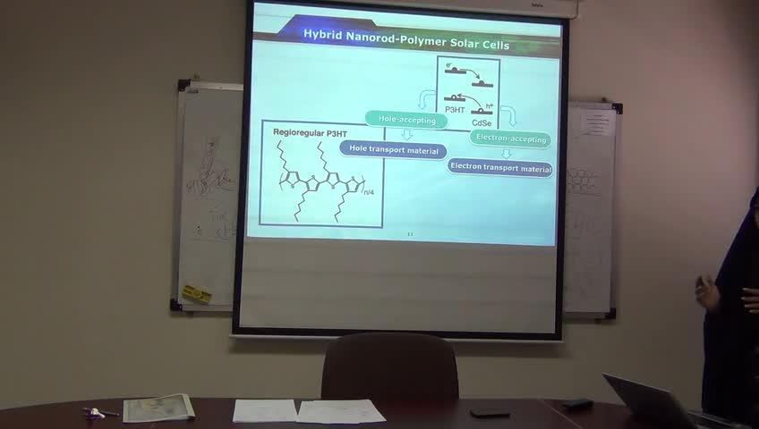 سلول های خورشیدی ۱ - جلسه یازدهم - سلول های خورشیدی رنگدانه ای ( DSCs ) - ثوابت زمانی - ذرات یکسان ، Rrdox - الکترولیت و واکنش های آن (خانم دکتر محمد پور)
