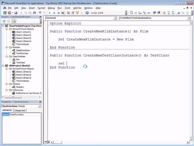 تخته سفید   Excel VBA Introduction Part 36 - Using Class Modules in