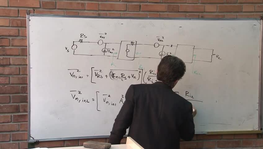 مدارهای مجتمع فرکانس بالا - RFIC - جلسه 3 - Noise Figure