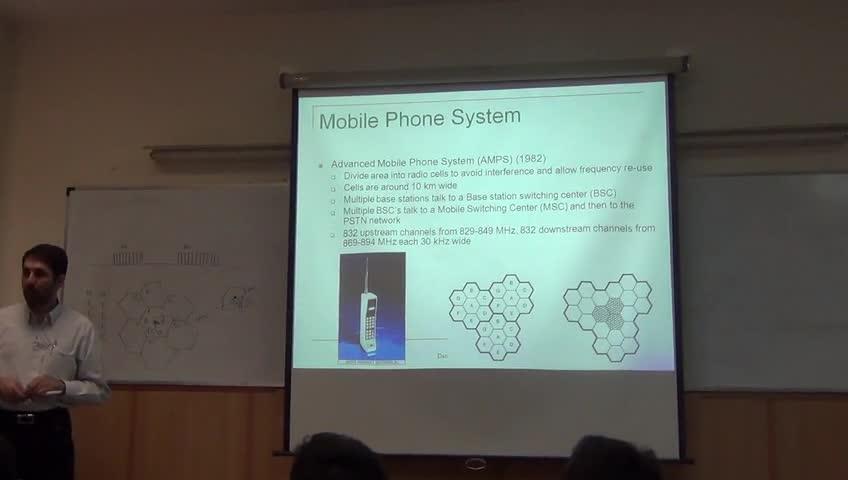 شبکه مخابرات داده - جلسه هشتم - تلفن همراه GSM, 3G, LTE