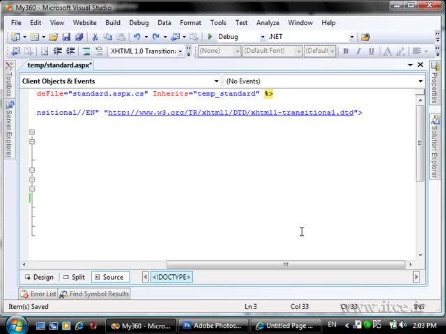 آموزش ASP.net - مبحث - Site Design 3