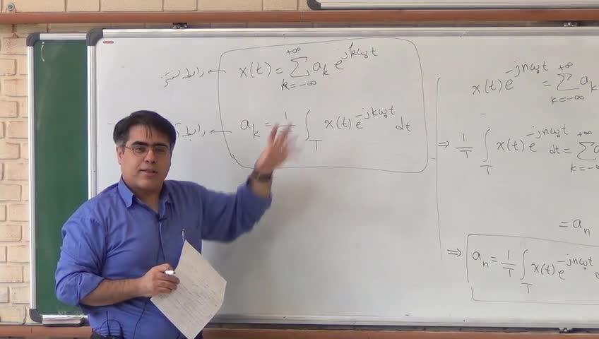 سیگنال و سيستم - جلسه هفتم- توابع singularity، سری فوریه