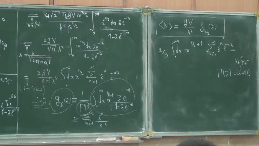 ترمودینامیک و مکانیک آماری ٢ - جلسه بیستم