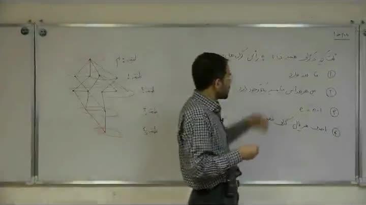 ترکیبیات - آمادگی مرحله ۲ - جلسه دوازدهم - فیروزی - گراف 2