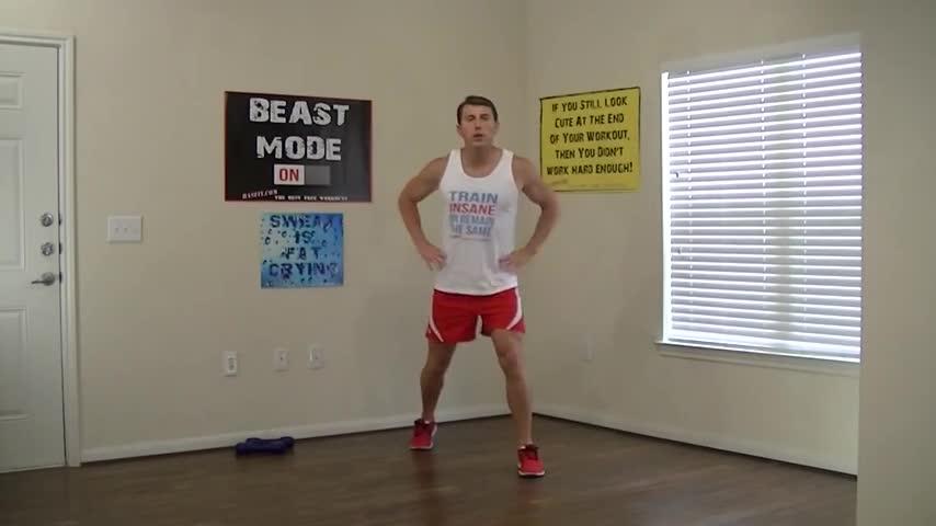 تخته سفید 15 Min Beginner Workout For Weight Loss Amp Strength Hasfit Easy Exercises Easy Workouts