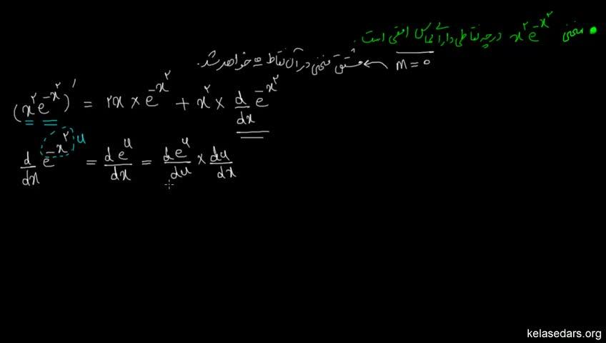 آموزش حسابان - جلسه 82- مشتق توابع لگاریتم طبیعی 2