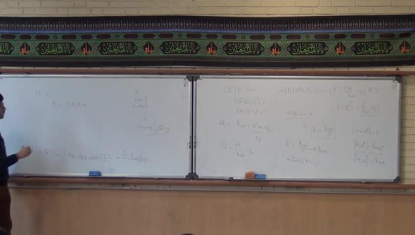 مکانیک کوانتیک ۱ - جلسه بیست و دوم - بخش ١