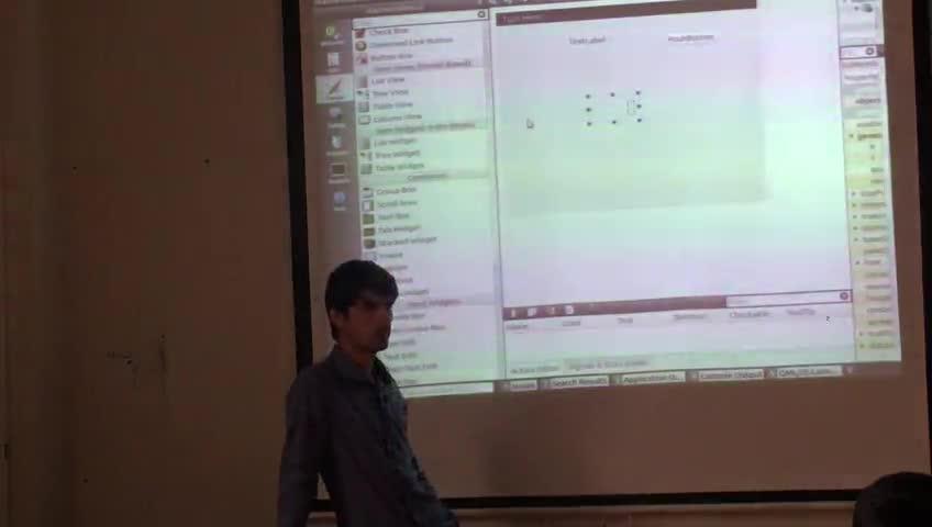 برنامه سازی پیشرفته - [حل تمرین - جلسه دوم] - Qt: دکمه ها - سیگنال ها