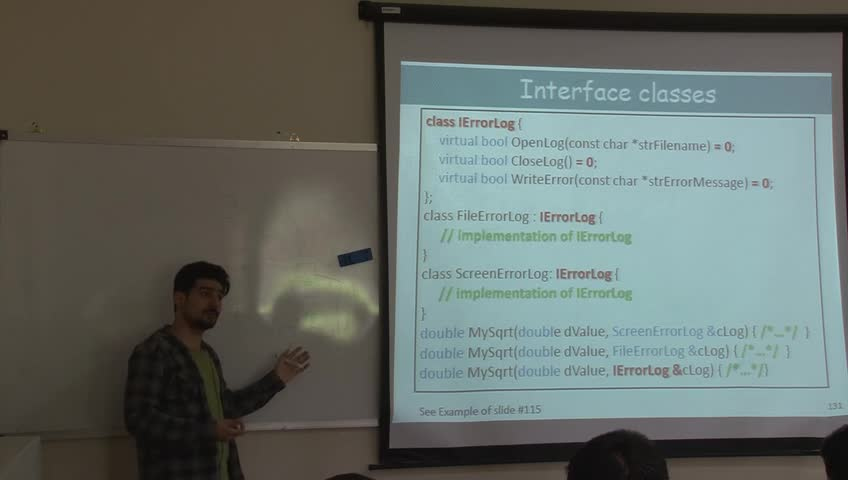 برنامه سازی پیشرفته - جلسه بیستم - وراثت و Interface