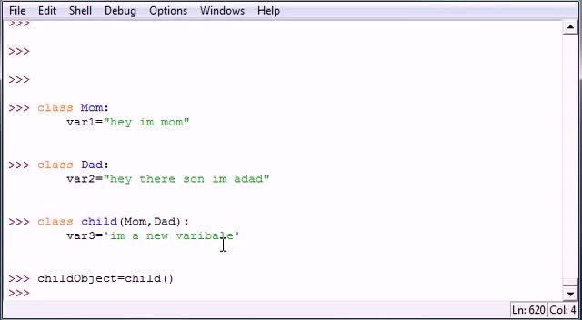 آموزش مقدماتی Python - جلسه ۳۶ - آموزش مقدماتی Python - Multiple Parent Classes