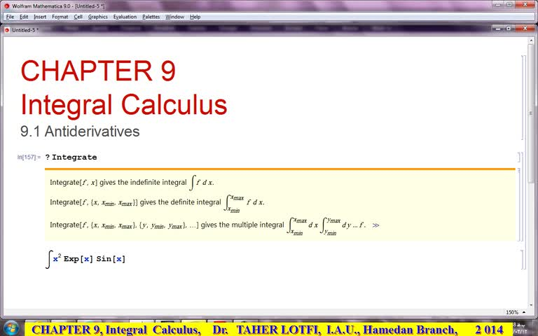 آموزش متمتیکا (Mathematica) - جلسه 47