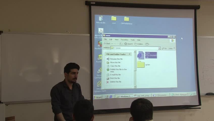 برنامه سازی پیشرفته - جلسه بیست و پنجم - CGI: Common Gateway Interface
