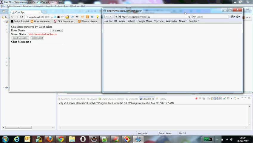 تخته سفید | Chat application with WebSocket