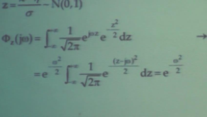 آمار و احتمال مهندسی - جلسه یازدهم - ادامه گشتاور متغیر تصادفی