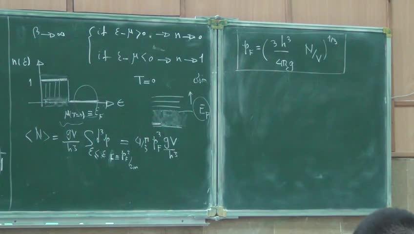 ترمودینامیک و مکانیک آماری ٢ - جلسه بيست و سوم