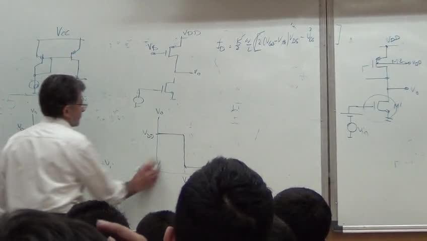 الکترونیک ۳ - جلسه بيست و چهارم - ترانزیستورهای MOS و مقدمه ای بر فیزیک آن ها