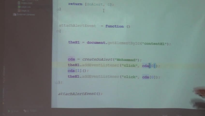 برنامه نویسی وب - جلسه ششم - ادامهی javascript