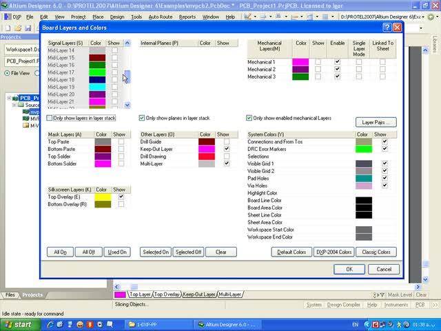 آموزش Protel DXP - جلسه 11 - تنظیم فضای ترسیم PCB