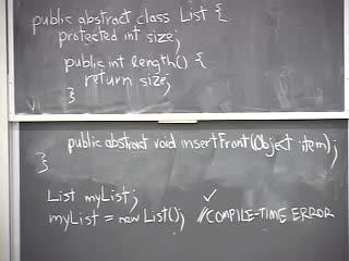 """ساختمان داده ها و الگوریتم ها - جلسه ی دوازدهم - آشنایی با مفهوم  """"کلاس مجرد"""" و مطالعه ی جزئیات آن در زبان برنامه نویسی جاوا"""