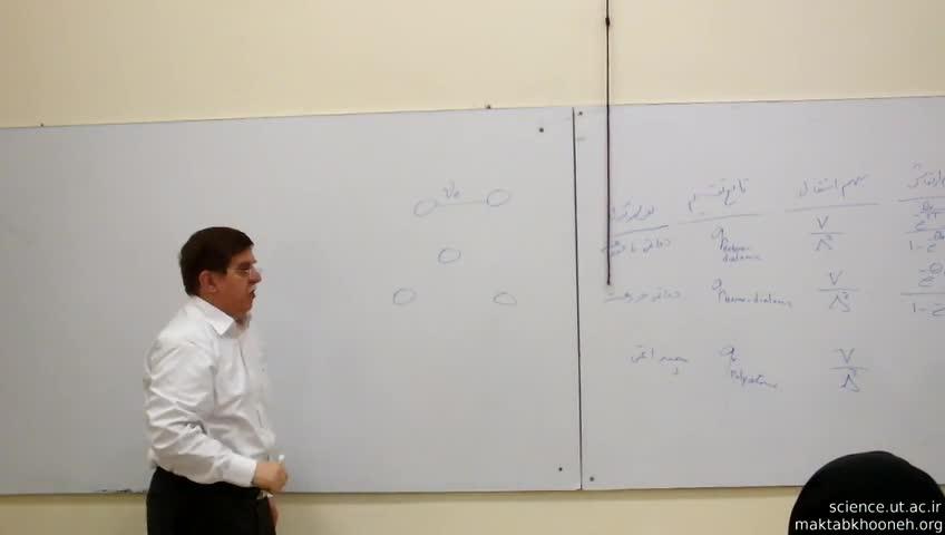 مکانیک آماری - جلسه بیستم