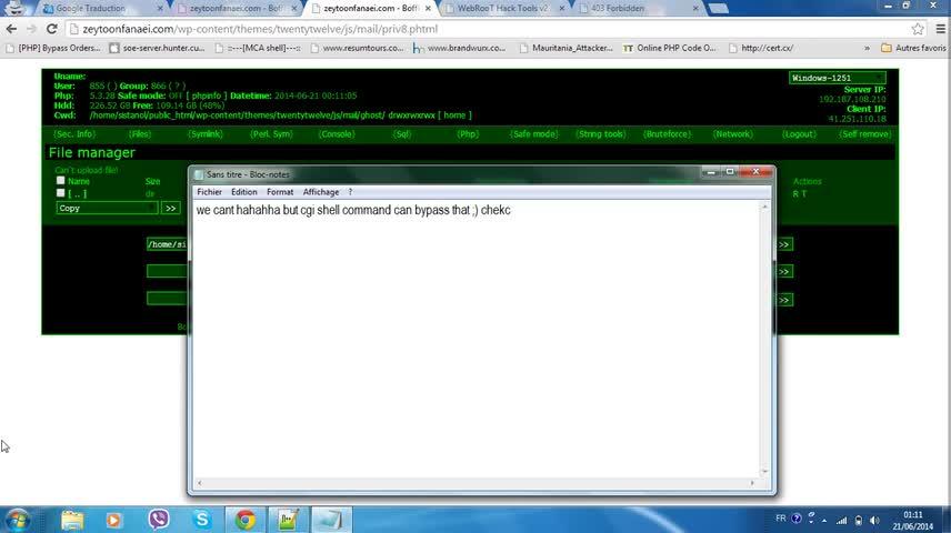 تخته سفید | Learn Symlink Error 404 bypass 2014 Full Video