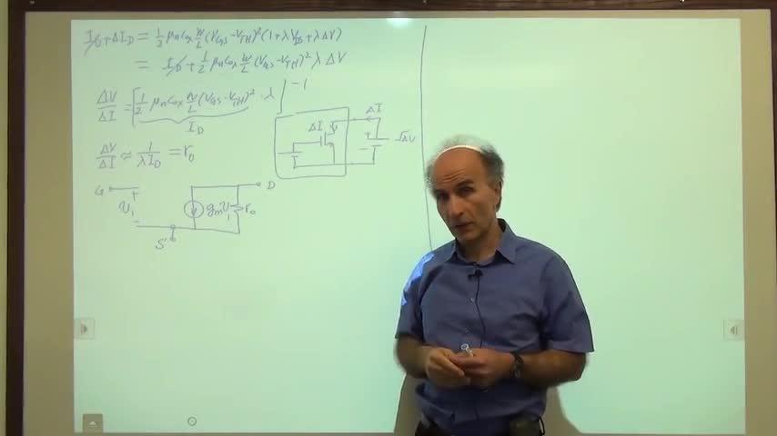 مدارات الکترونیک ۱ - جلسه سی و چهارم - مدل سیگنال کوچک