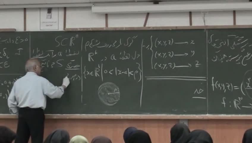 ریاضی عمومی ۲ - جلسه ۱۹ - پیوستگی و حد