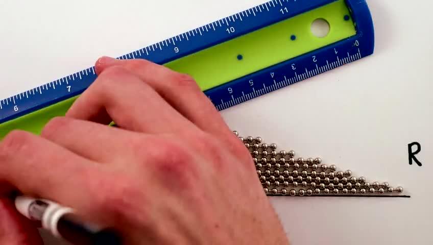 سرگرمی های فیزیک - محاسبه ساده ی مساحت دایره