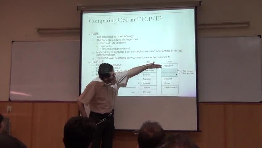 شبکه مخابرات داده - جلسه سوم - مدل OSI، مدل TCP/IP، معماری اینترنت